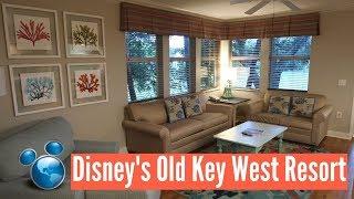 Disney's Old Key West Resort | 1 Bedroom Villa Complete Room Tour