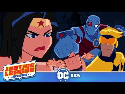 Justice League Action | Lasso of Lies | DC Kids
