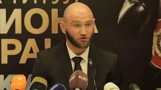Роман Головащенко о поединке за титул чемпиона мира IBO.