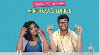 The Ultimate Cheap Vs Expensive: April Fool's Prank | Ok Tested