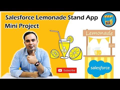 , title : 'Lemonade 🍋  Stand Application Salesforce | Mini Project | Salesforce Bolt | Trailhead
