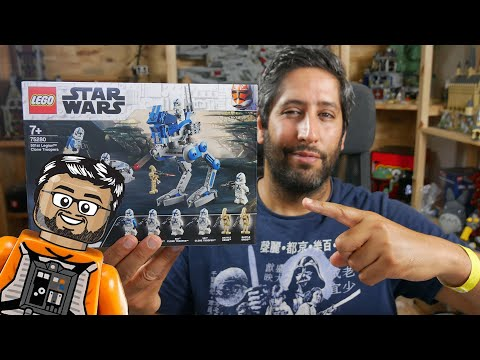 Vidéo LEGO Star Wars 75280 : Les Soldats Clones de la 501ème légion