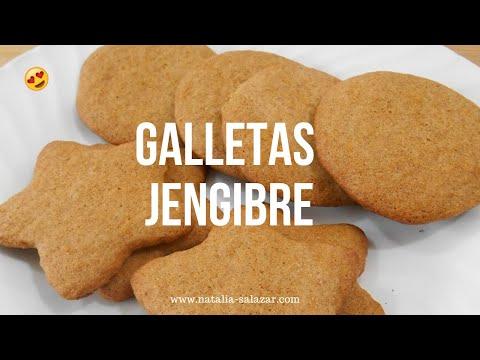 Cómo hacer GALLETAS DE JENGIBRE, súeper fáciles, económicas y deliciosas!! Natalia Salazar