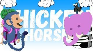 ОБЕЗЬЯНА ПРОТИВ СЛОНА: МСТЯ! | Смешные моменты |Друзья по Ultimate Chicken Horse