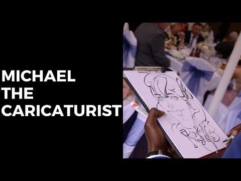 Michael the Caricaturist Video