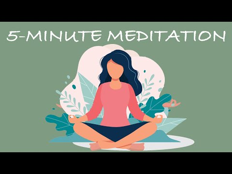 Meditate Anywhere, 5 Minutes
