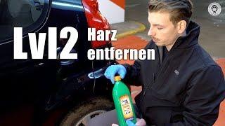 Harz entfernen für Fortgeschrittene - Lvl 2 I mit Spiritus