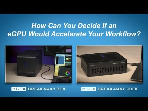 How to Test If an eGPU Would Accelerate Your Workflow