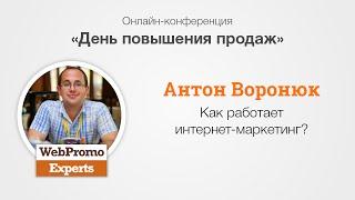 Как работает интернет-маркетинг? Антон Воронюк