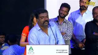 Aggressive speech about JosephVijay issue by actor ArulDoss at NenjilThunivirundhal Trailer launch