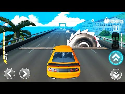 Deadly Race (Speed Car Bumps Challenge)   Gameplay Android and iOS