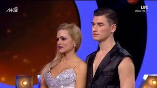 "Dancing with the stars: Η Βίκυ Κάβουρα αποχώρησε... με ""καρφιά"" για την κριτική επιτροπή"
