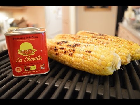 How to Grill Smoked Paprika Spice Rubbed Corn-on-the-Cob: Cooking with Kimberly