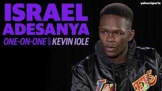 Israel Adesanya looks ahead to bout against Yoel Romero in UFC 248