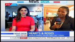 Lovers out to impress each other, as the world marks Valentine's Day today | HEARTS & ROSES