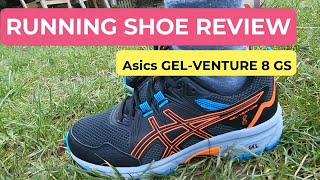 ASICS GEL VENTURE 8   Trail Running Shoe Review   On-feet and Running   Unboxing and honest review!