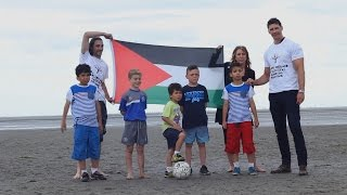 Family football & Paper Boats for Palestine