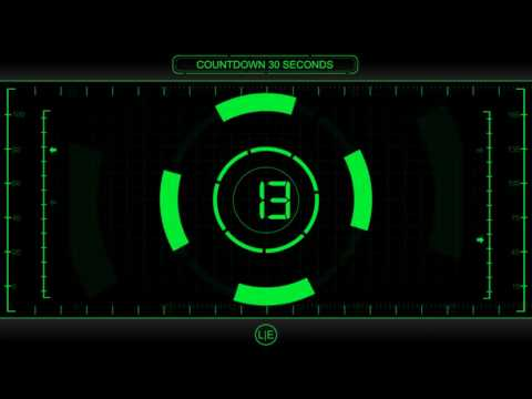 COUNTDOWN Timer 30 sec ( v 225 ) Clock with Sound Effects