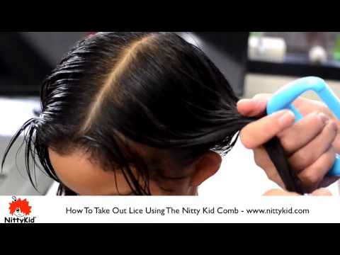 Video How to get rid of lice on children with long hair - how to do it at home