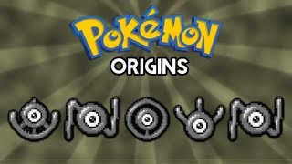 Pokemon Origins | Unown
