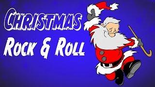 ROCK & ROLL CHRISTMAS MUSIC  - Merry Christmas - Christmas Music Mix Instrumental