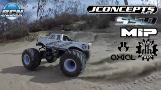 Axial SMT10 Custom   Running Video