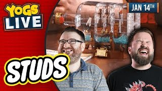 LEGO STUDS SHIP IN A BOTTLE BUILD w/ Simon & Turps! - 14th January 2019