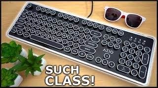The Classiest Mechanical Keyboard Ever!