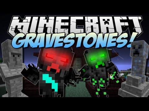 Minecraft   GRAVESTONES! (Wither Catacombs!)   Mod Showcase [1.6.2]