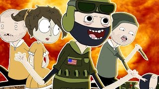 ♪ COUNTER STRIKE THE MUSICAL - CS: GO Song Parody Animation