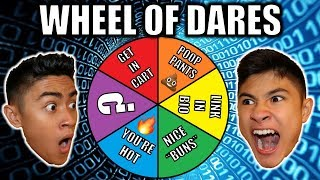 WHEEL OF DARES!! (Doing Dares in Walmart)