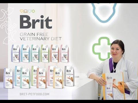 Обзорная лекция о Brit Grain Free Veterinary Diet - беззерновые ветеринарные диеты