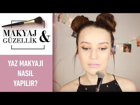 Merve Sevil   Yaz Makyajı Önerileri   Yaz Makyajı Nasıl Yapılır?