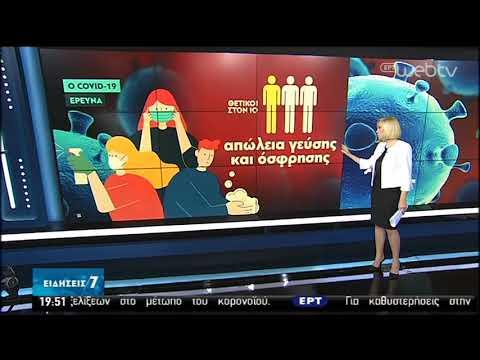 'Ερευνα   Μόλις το 10% των κρουσμάτων είχε πυρετό!   01/04/2020   ΕΡΤ