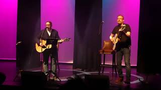 Chris Difford & Boo Hewerdine -Cool For Cats - live at The Met , Bury 29.3.18