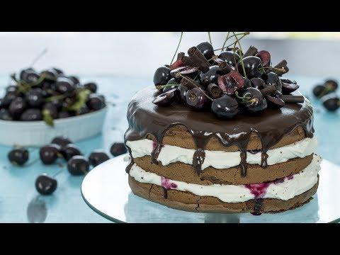 Video Black Forest Cake Recipe