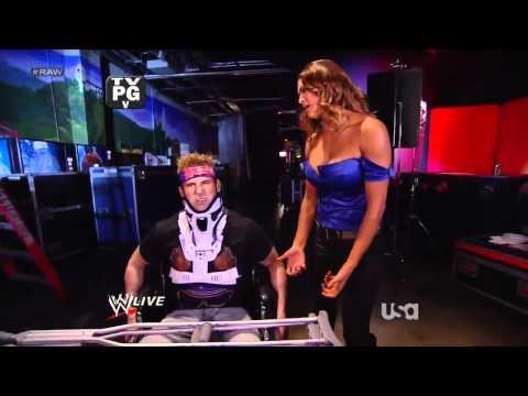 WWE Raw 13/02/12 - Eve Torres, Kane, John Cena  and  Zack Ryder Segment