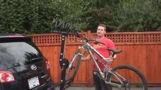 Loading Bikes, North Shore Racks