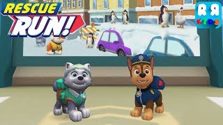 PAW Patrol Rescue Run - Downtown With Everest And Chase