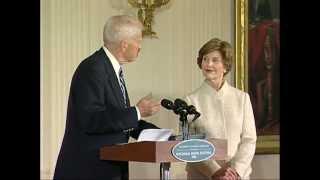 Jan Bretts Presentation At The White House For The National Book Festival