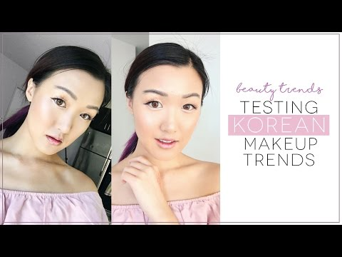 6 Korean Makeup Trends TESTED! | ilikeweylie
