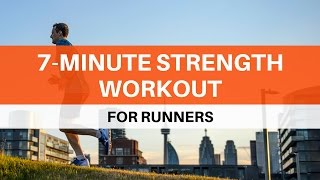 7-Minute Strength Workout for Runners by Mark Kennedy