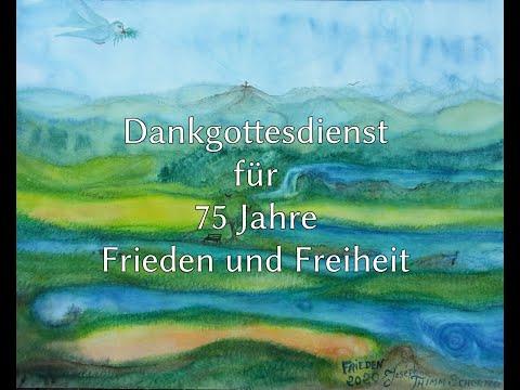 Online: Dankgottesdienst für 75 Jahre Frieden und Freiheit am 8. Mai in Kessenich