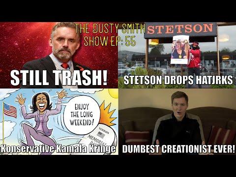 Peterson Still Trash/Stetson Drops HatJrks/Konservative Kamala Kringe/Dumbest Creationist Ever