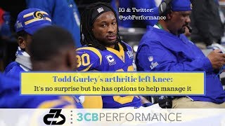 Todd Gurley's arthritic left knee: It's no surprise but there are options to help