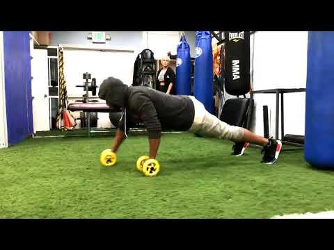 Kel Mitchell gym workout  2017