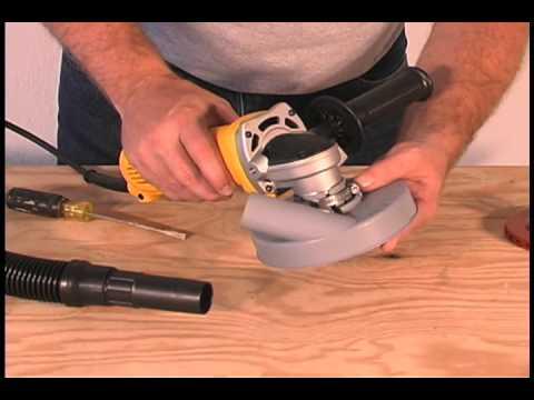 Dustless Technologies - Dustie Dust Shroud for Hand Grinders
