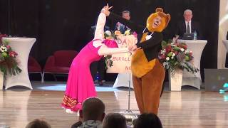 Matej Stec Elena Popova Slovakia WDSF ME Show Dance Standard