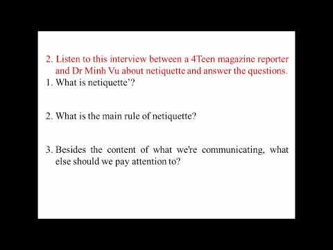 TIẾNG ANH 8 (10 NĂM) - UNIT 10 - COMMUNICATION - LESSON: SKILLS 2
