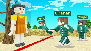 Playing RED LIGHT, GREEN LIGHT In Minecraft! (Squid Game)